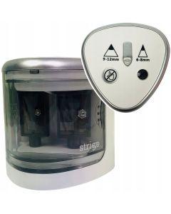 Temperówka elektryczna Strigo podwójna 6-12 mm - zdjęcie 1