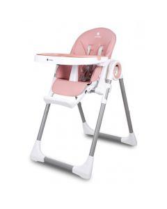 Krzesełko do karmienia leżaczek 3w1 Sun Baby Fidi pink - zdjęcie 1
