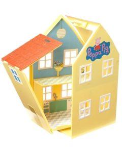 Domek deluxe Świnka Peppa 4 figurki - Zdjęcie 1