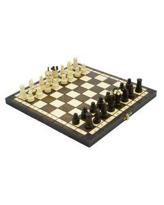 Szachy drewniane królewski – sklep szachowy - zdjęcie 1