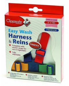 szelki bezpieczenstwa clippasafe kolorowe do nauki chodzenia - zdjęcie 1