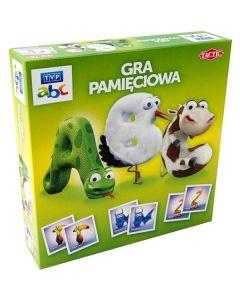 Gra pamięciowa abc Tactic + kolorowanka z naklejkami gratis - zdjęcie 1