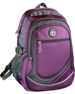 Plecak szkolny sportowy Are Titanum fioletowy- zdjecie 1