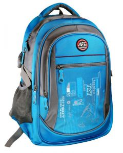 Plecak szkolny sportowy Are Titanum niebieski- zdjęcie 1