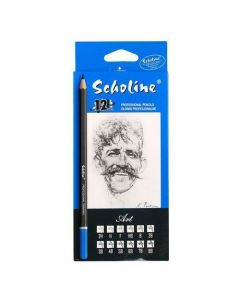 Ołówki profesjonalne Scholine op.12szt. - zdjęcie 1