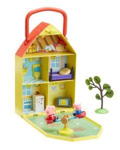 Domek Świnki Peppy TM Toys z ogrodem zdjęcie 1