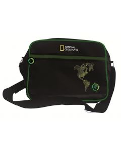 Torba sportowa na ramię National Geographic Compass zielona