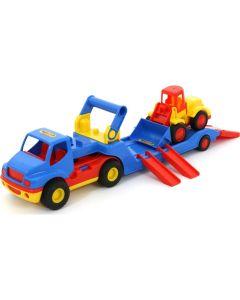 Ciężarówka, przyczepa i koparka Wader 45 cm