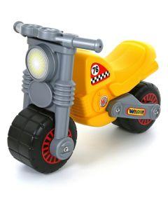 Jeździk motor Wader żółty