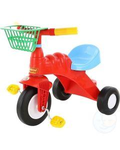 Rowerek 3-kołowy Wader z koszem