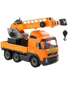 Volvo ciężarówka dźwig Wader