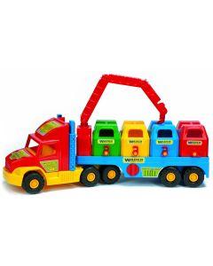 Śmieciarka super truck Wader 78 cm