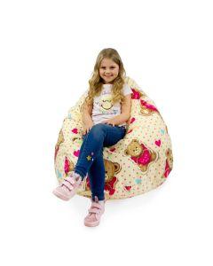 Worek sako dla dziewczynek design Misie - zdjęcie 1