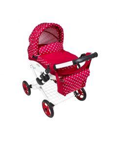 Wózki dla lalek - składany duży wózek lalkowy gondola - zdjęcie 1