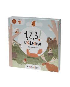 Wspomagajki Zwierzęta w lesie- gra pamięciowa układanka dla 2 latka - zdjęcie 1
