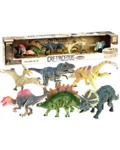 Zestaw dinozaurów do zabawy figurki malowane 6 szt - zdjęcie 1