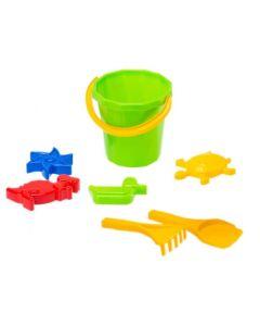 Zabawki do piasku foremki i wiaderko Diplo - zdjęcie 1