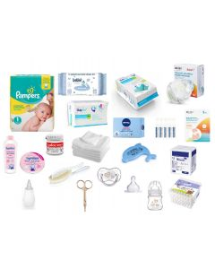 Wyprawka do szpitala dla Mamy i noworodka dla chłopca