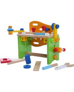 Zestaw narzędzi drewnianych małego majsterkowicza