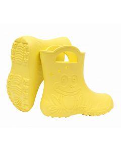 Kalosze dziecięce Zetpol Eva Frog żółte