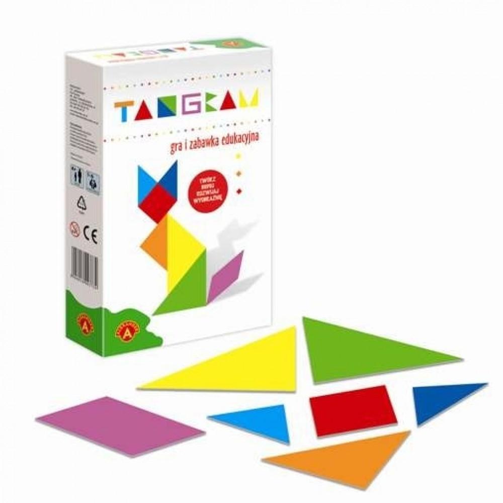 Tangram mini Alexander logiczna łamigłówka dla dzieci