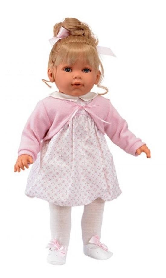 Hiszpańska urocza lalka Antonio Juan Lula Con Coleta mówi i śmieje się