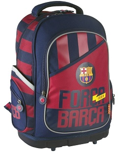 Plecak szkolny Astra FC Barcelona 87 z usztywnianym dnem