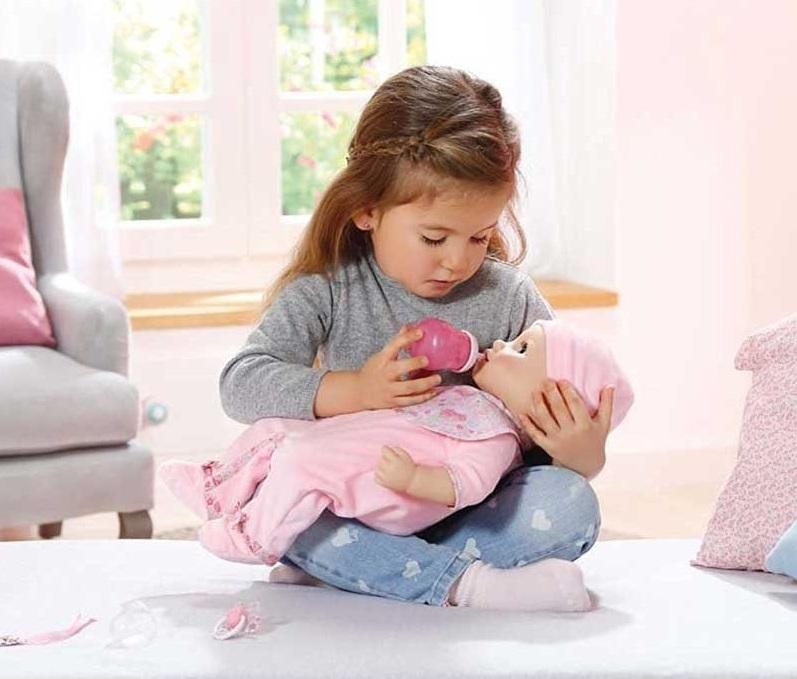 Lalka interaktywna Baby Born Baby Annabell 43 cm