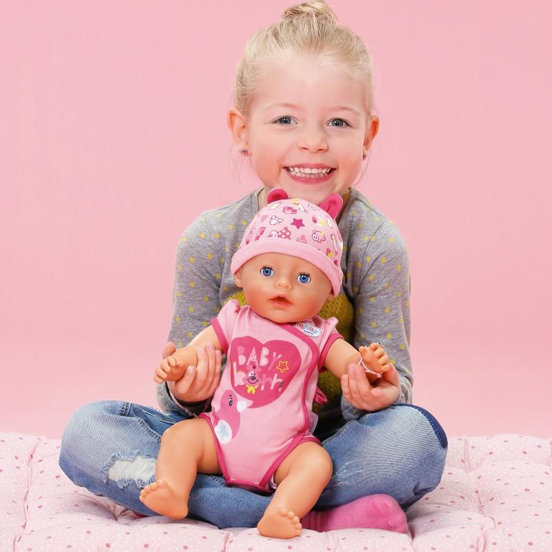 Lalka interaktywna bobas Baby Born 43cm soft touch