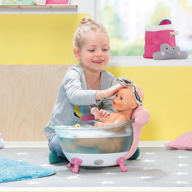 Interaktywna wanienka Baby Born z prysznicem