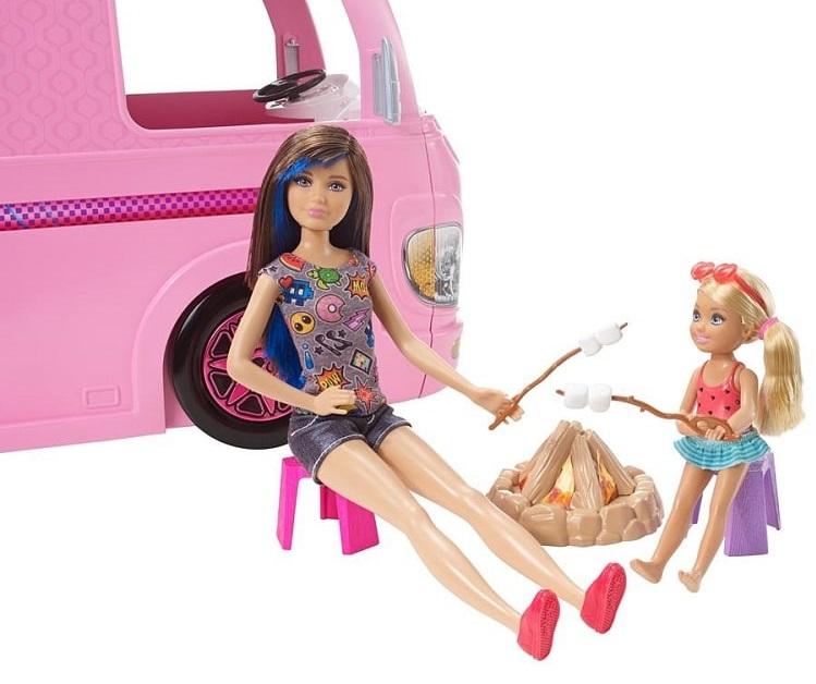 Wymarzony camper Barbie auto kempingowe FBR34