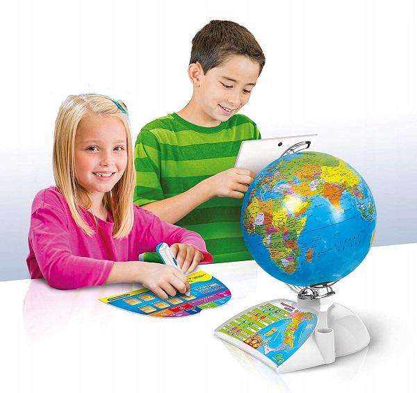 Globus interaktywny Clementoni poznaj świat