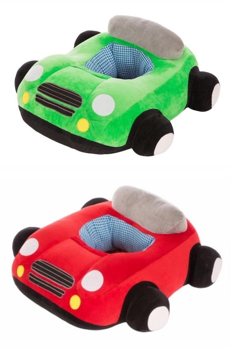 Pluszowy fotel dla dzieci Auto różne kolory