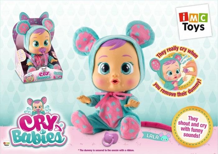 Lala Cry Babies TM Toys płaczący bobas