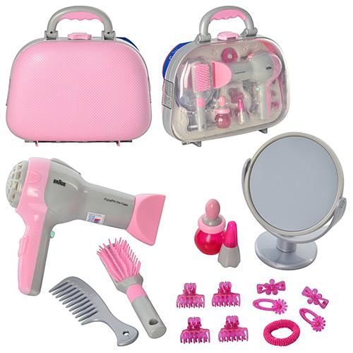 Zestaw zabawkowy fryzjerski dla dzieci