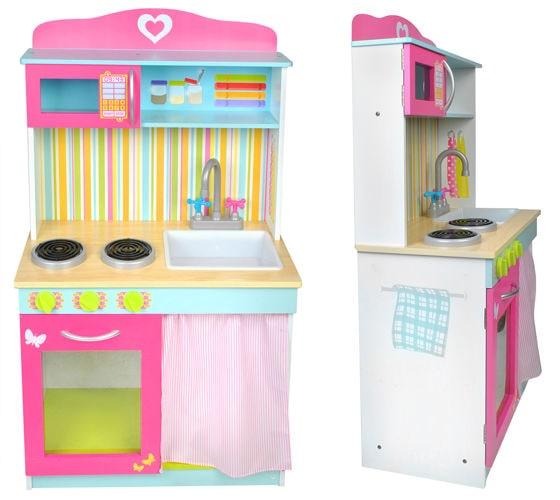 kuchnia dla dzieci drewniana