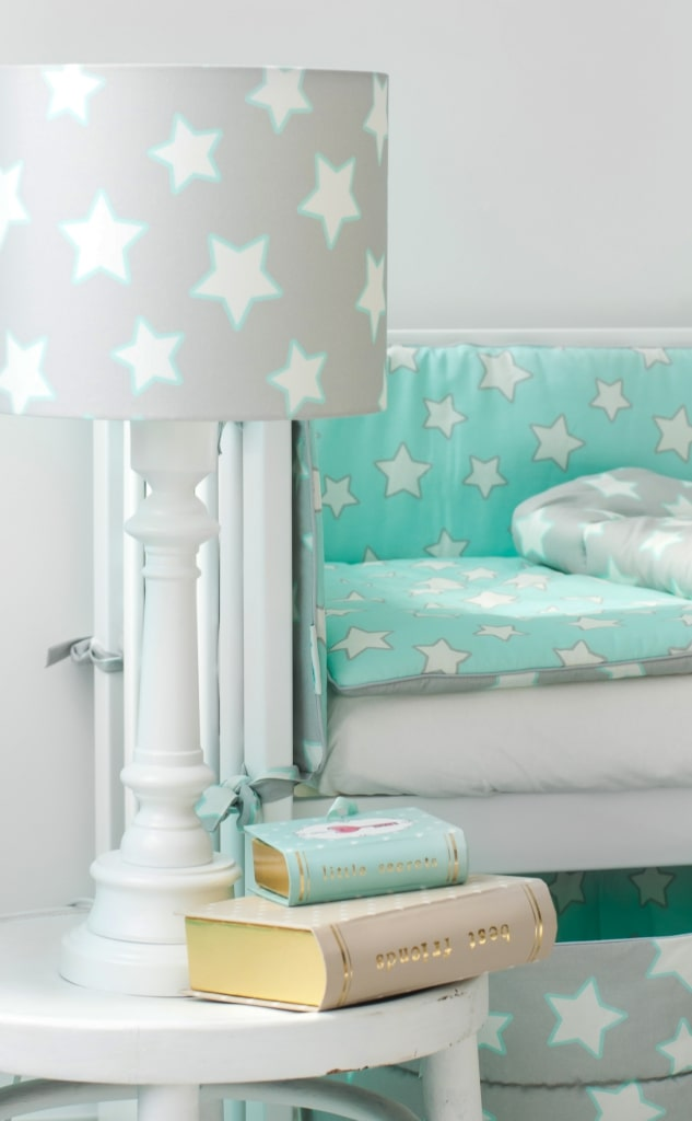 Lampa stojąca Lamps&Co grey stars