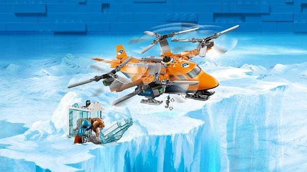 Arktyczny transport powietrzny Lego City 60193