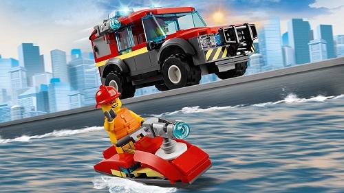 Klocki Lego City remiza strażacka