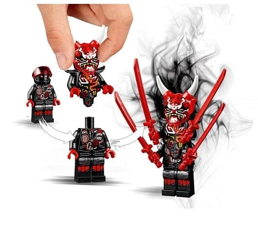 Wyścig uliczny Wężowego Jaguara Lego Ninjago 70639