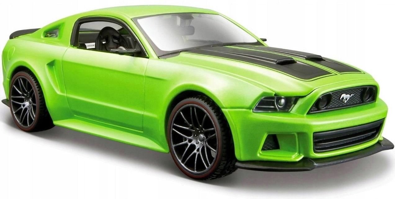 Samochód model metalowy Maisto Ford Mustang Street Racer 1:24