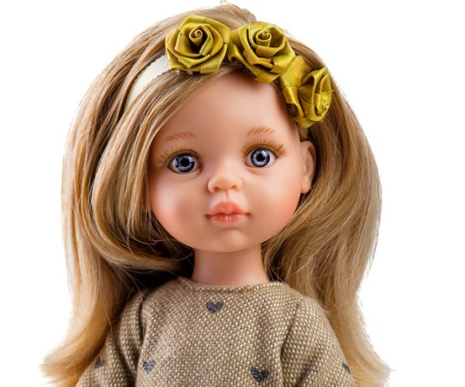 Hiszpańska lalka Paola Reina Carla 32 cm
