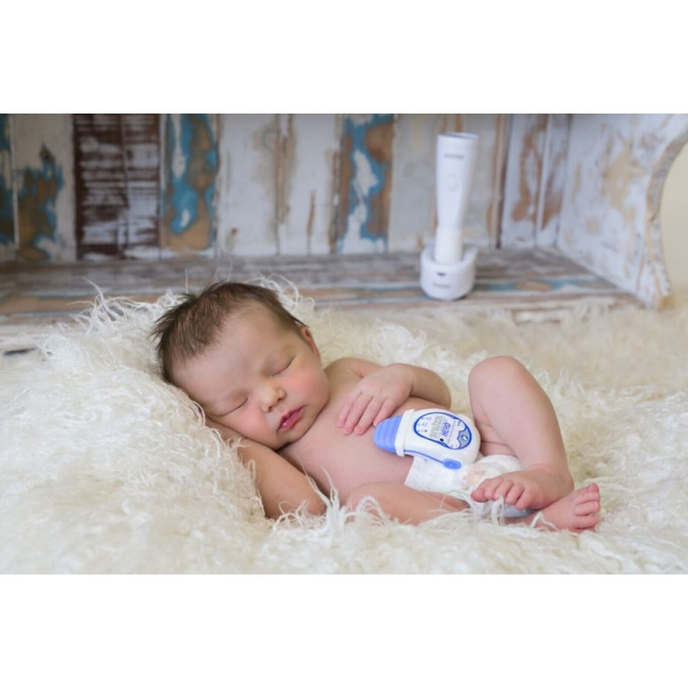Przenośny monitor oddechu dla niemowląt Snuza Hero MD