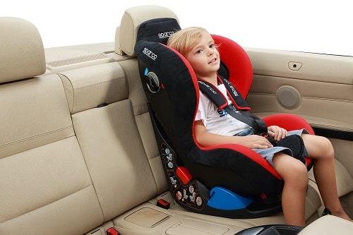 Fotelik samochodowy Sparco F5000k 0-18kg