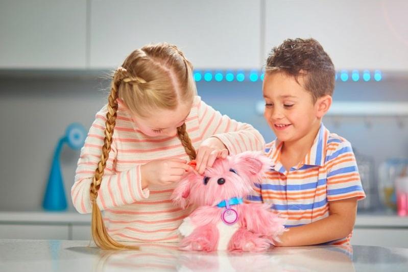 Fur Balls zabawka Tm Toys maskotka różowa