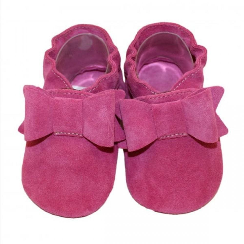 Buciki dla niemowlaka różowe Babice