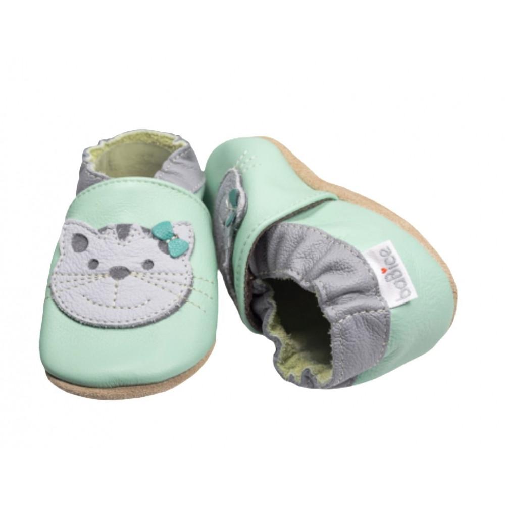Buciki niemowlęce baBice z kotkiem