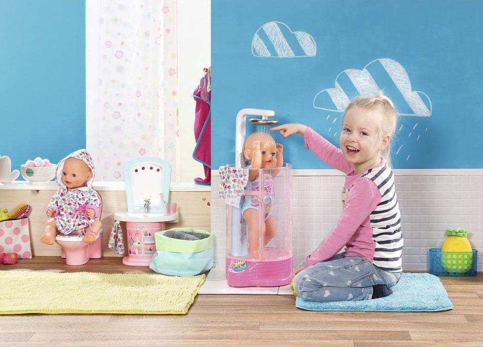 Interaktywny prysznic baby born
