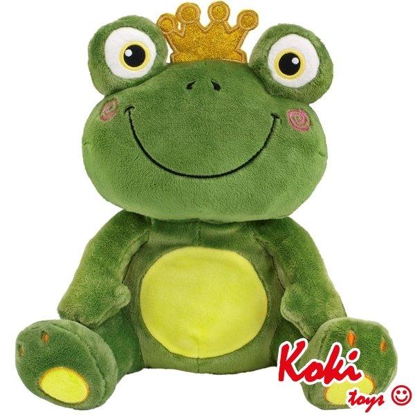 Żaba z koroną maskotka Beppe 40cm