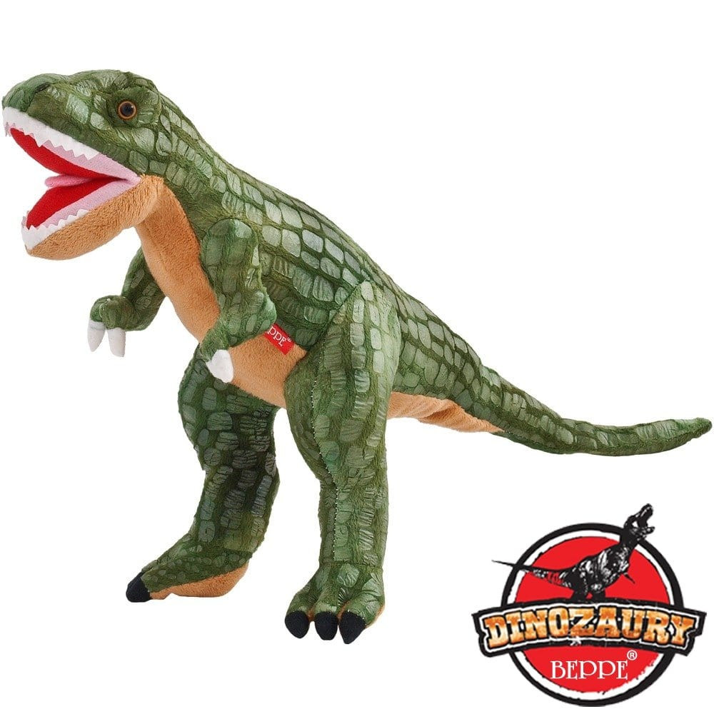 Beppe maskotka dinozaur tyranozaur